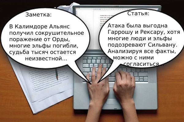 аналитические и информационные жанры